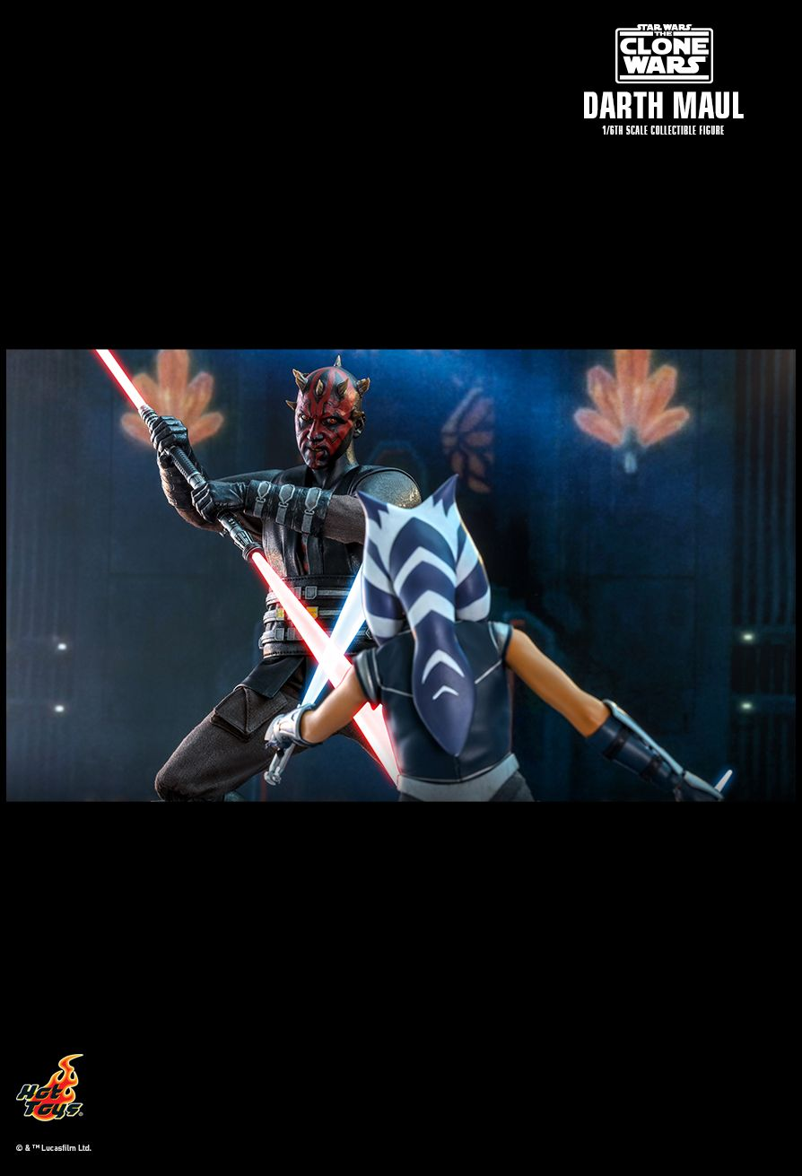 Sci-Fi - NEW PRODUCT: HOT TOYS: STAR WARS: THE CLONE WARS™ DARTH MAUL™ 1/6TH SCALE COLLECTIBLE FIGURE 16202