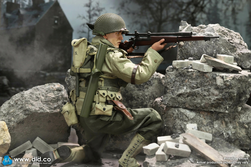 DiD - NEW PRODUCT: DiD: A80144 WWII US 2nd Ranger Battalion Series 4 Private Jackson 16209