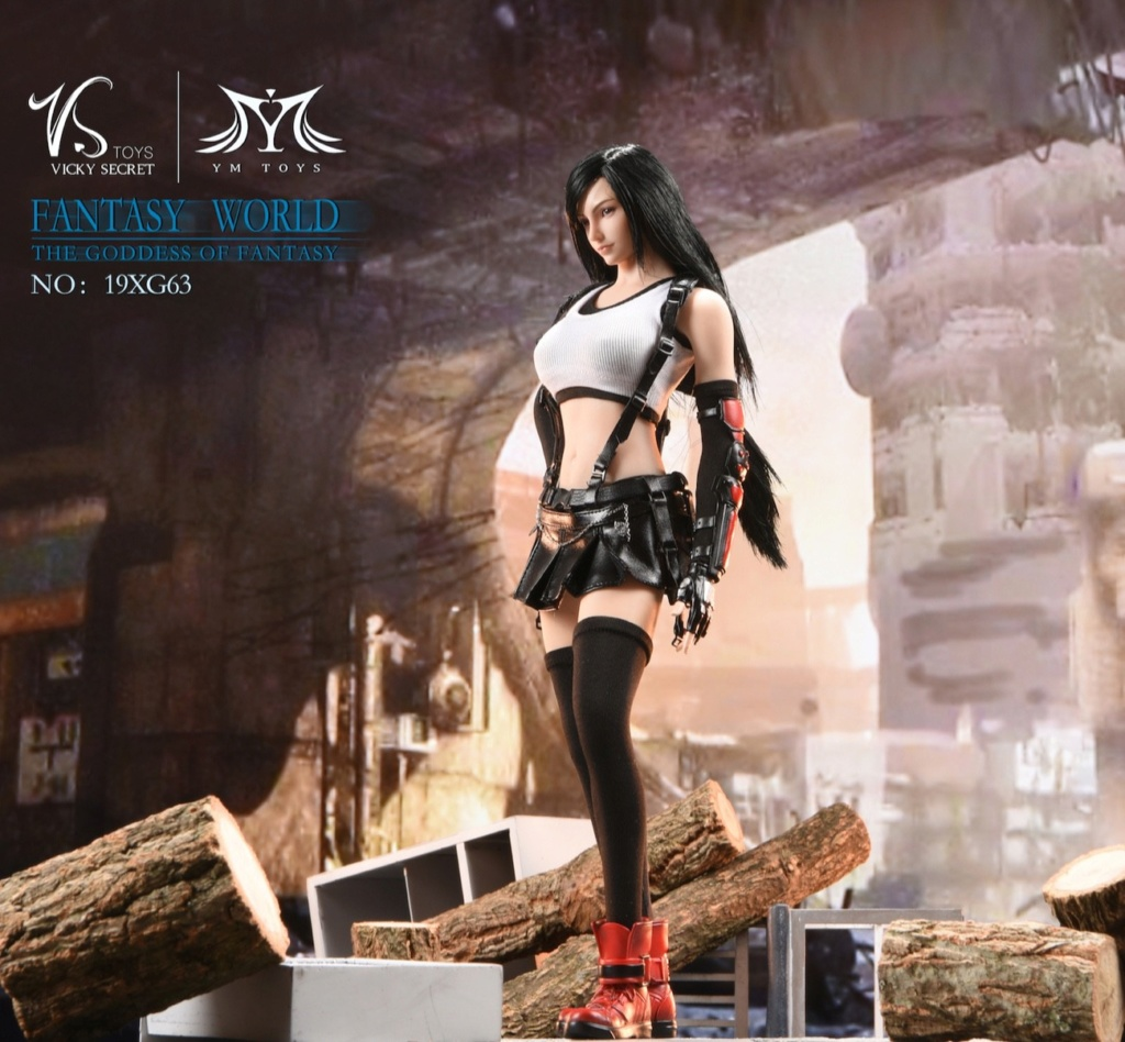 sci-fi - NEW PRODUCT: VSTOYS: 1/6 Tifa 3.0 action figure-double head carved encapsulated body configuration # 19XG63 16221612