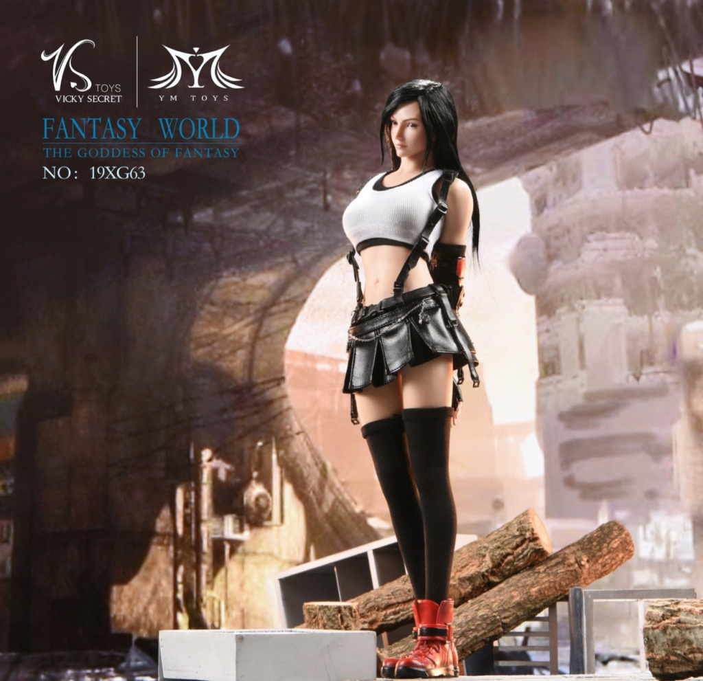 sci-fi - NEW PRODUCT: VSTOYS: 1/6 Tifa 3.0 action figure-double head carved encapsulated body configuration # 19XG63 16222210
