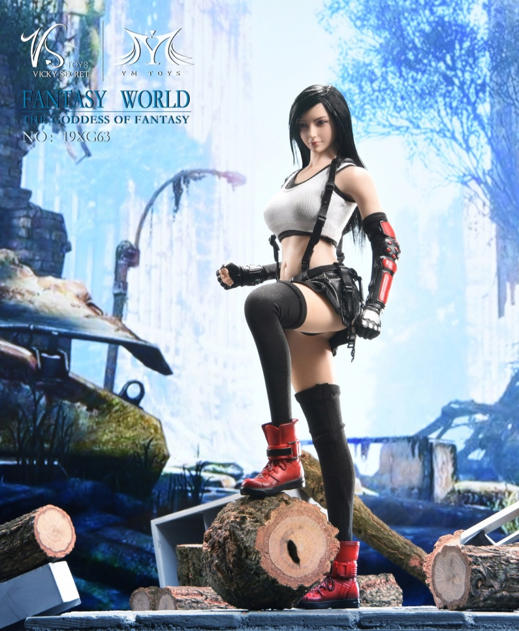 sci-fi - NEW PRODUCT: VSTOYS: 1/6 Tifa 3.0 action figure-double head carved encapsulated body configuration # 19XG63 16222510