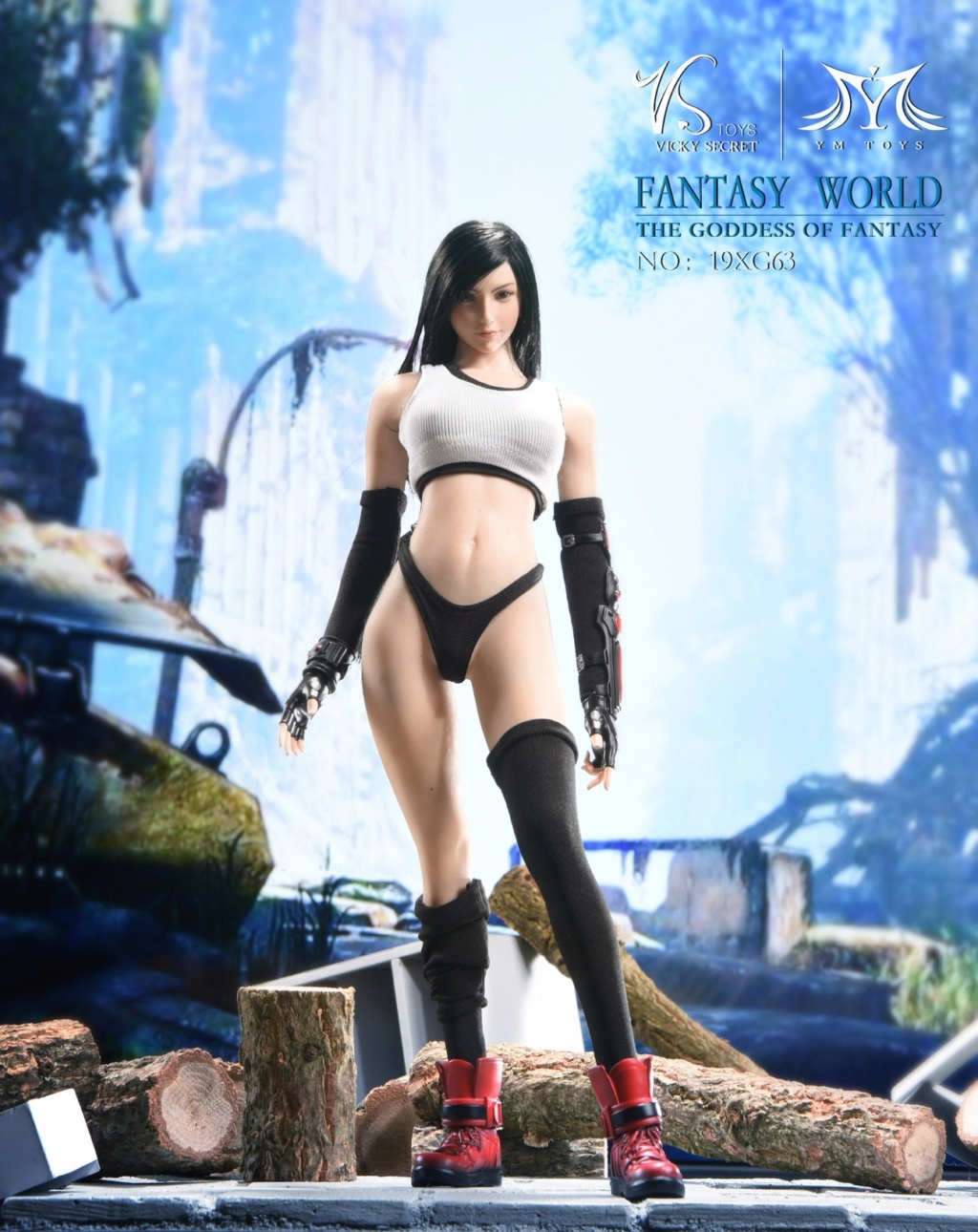 sci-fi - NEW PRODUCT: VSTOYS: 1/6 Tifa 3.0 action figure-double head carved encapsulated body configuration # 19XG63 16222710