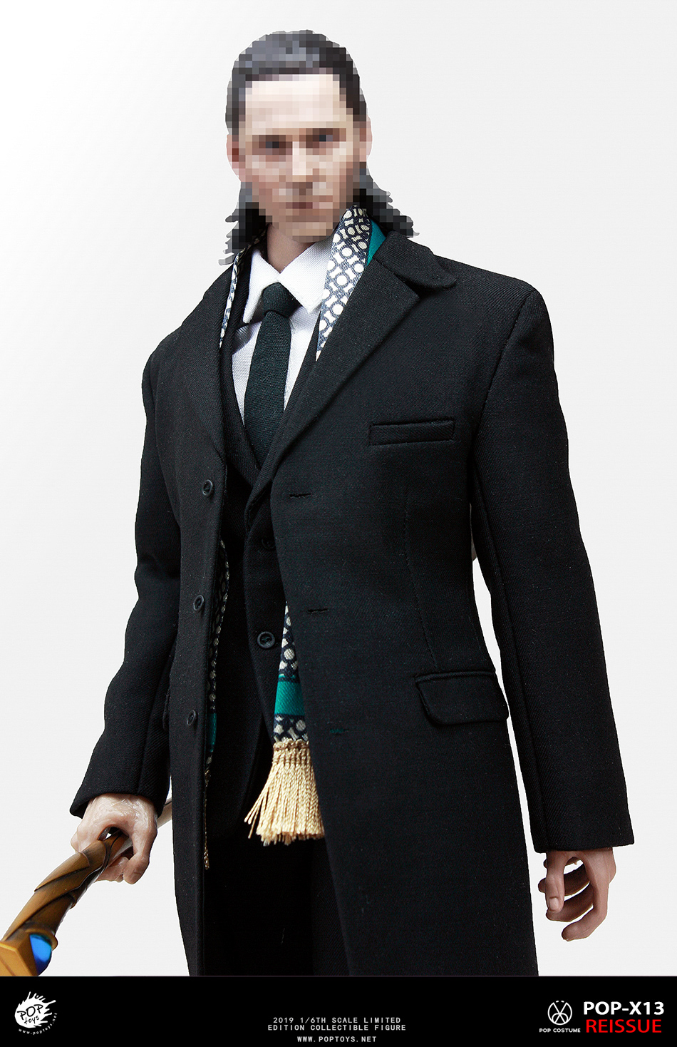 "male - NEW PRODUCT: ""Fantastic villains, evil gentlemen"" - POPTOYS series X13-1/6 LOKI windbreaker set - 2019 reprint 16244410"