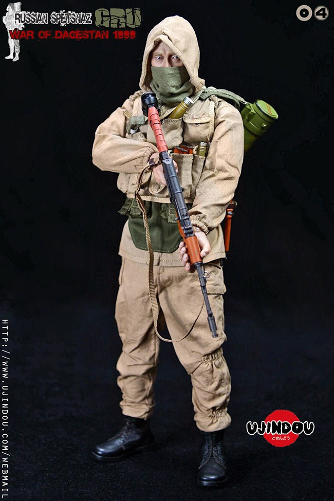 UJINDOU -  NEW PRODUCT: UJINDOU: 1/6 Russian Special Forces-Dagestan War 1999 #UD9004 [Update and update] 1625e210