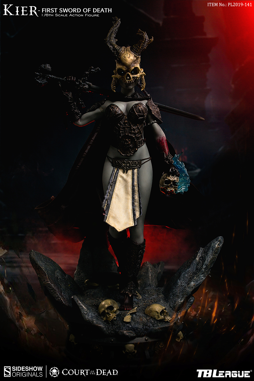 horror - NEW PRODUCT: TBLeague & Sideshow: 1/6 Court of the Dead - Valkyrie Cole / Kier movable doll (PL2019-141) 16260110