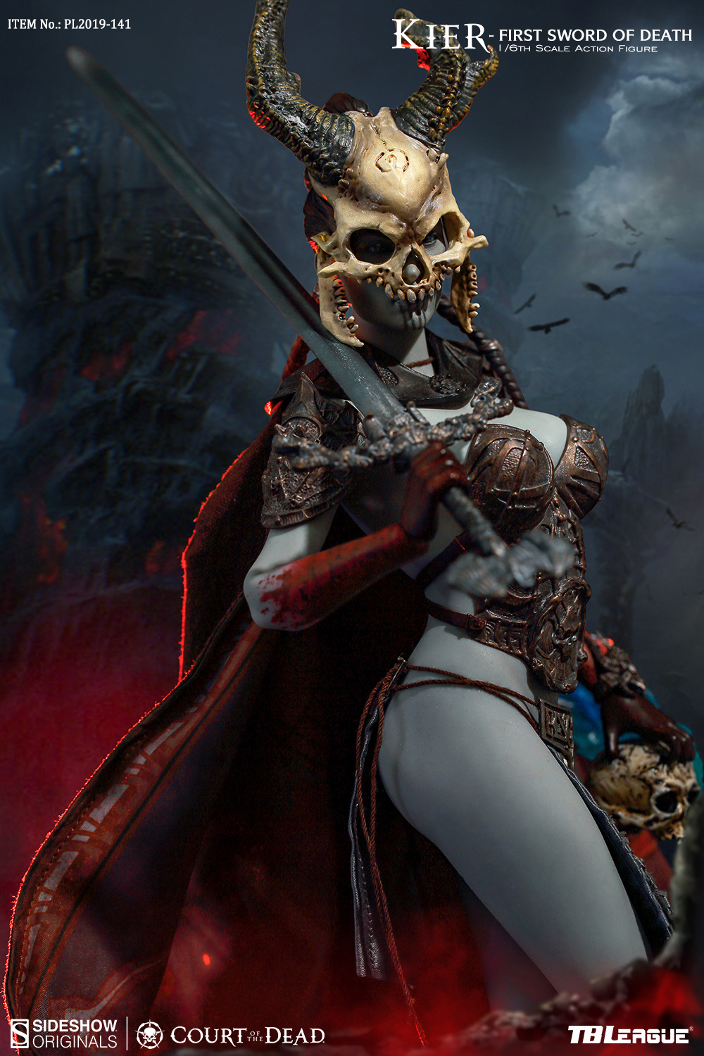 horror - NEW PRODUCT: TBLeague & Sideshow: 1/6 Court of the Dead - Valkyrie Cole / Kier movable doll (PL2019-141) 16260610