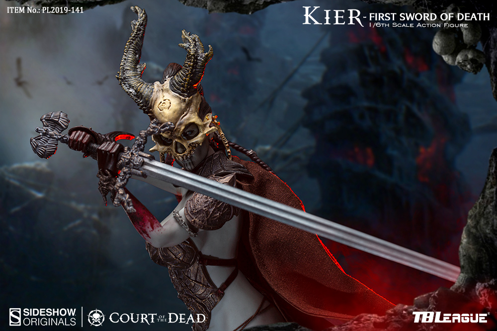 horror - NEW PRODUCT: TBLeague & Sideshow: 1/6 Court of the Dead - Valkyrie Cole / Kier movable doll (PL2019-141) 16260810