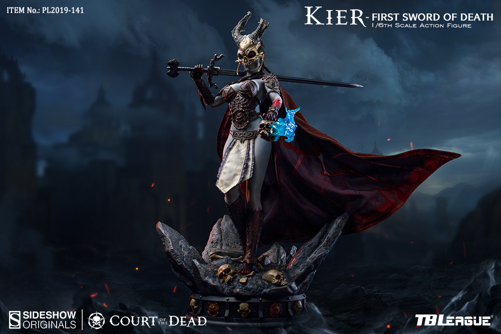 horror - NEW PRODUCT: TBLeague & Sideshow: 1/6 Court of the Dead - Valkyrie Cole / Kier movable doll (PL2019-141) 16260910