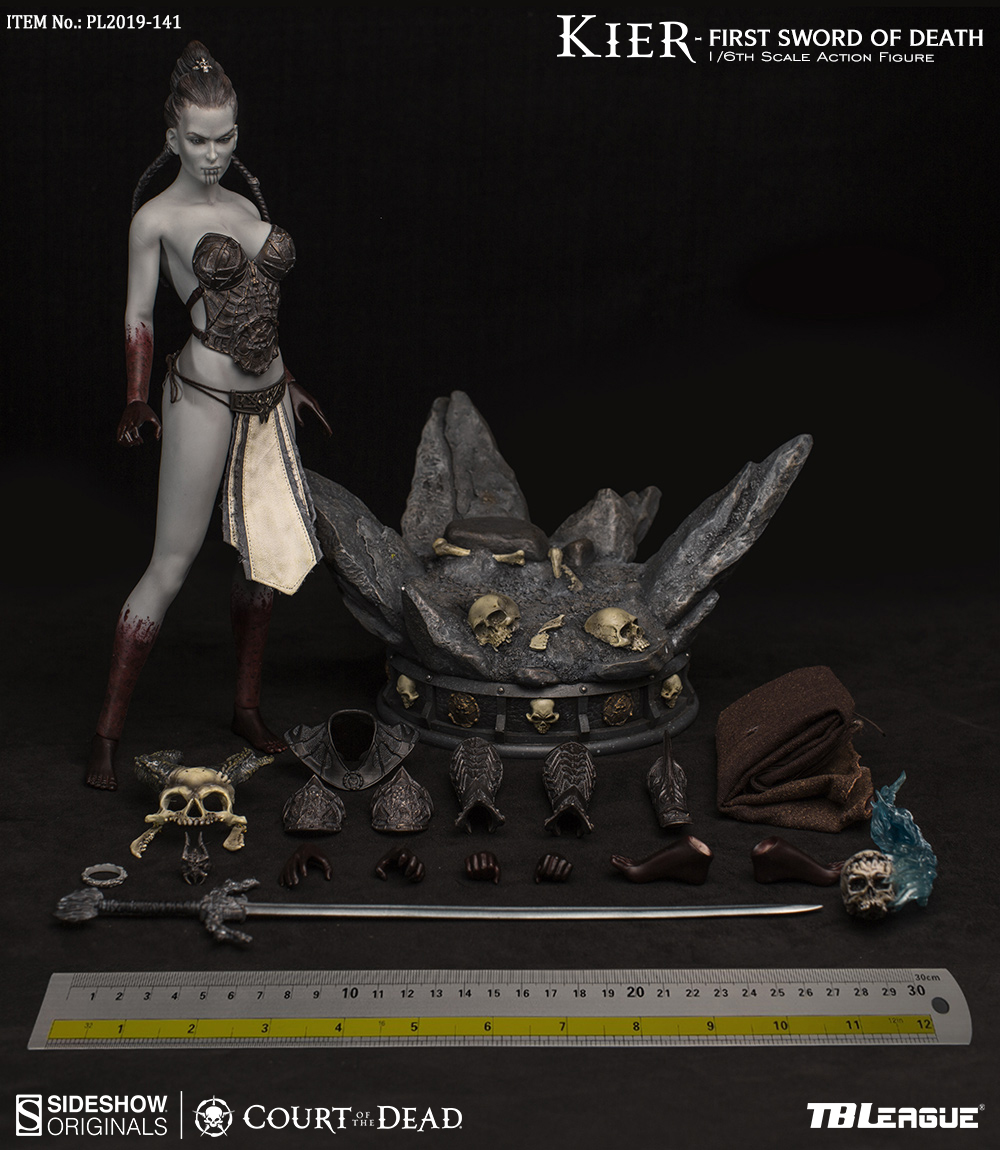horror - NEW PRODUCT: TBLeague & Sideshow: 1/6 Court of the Dead - Valkyrie Cole / Kier movable doll (PL2019-141) 16261310
