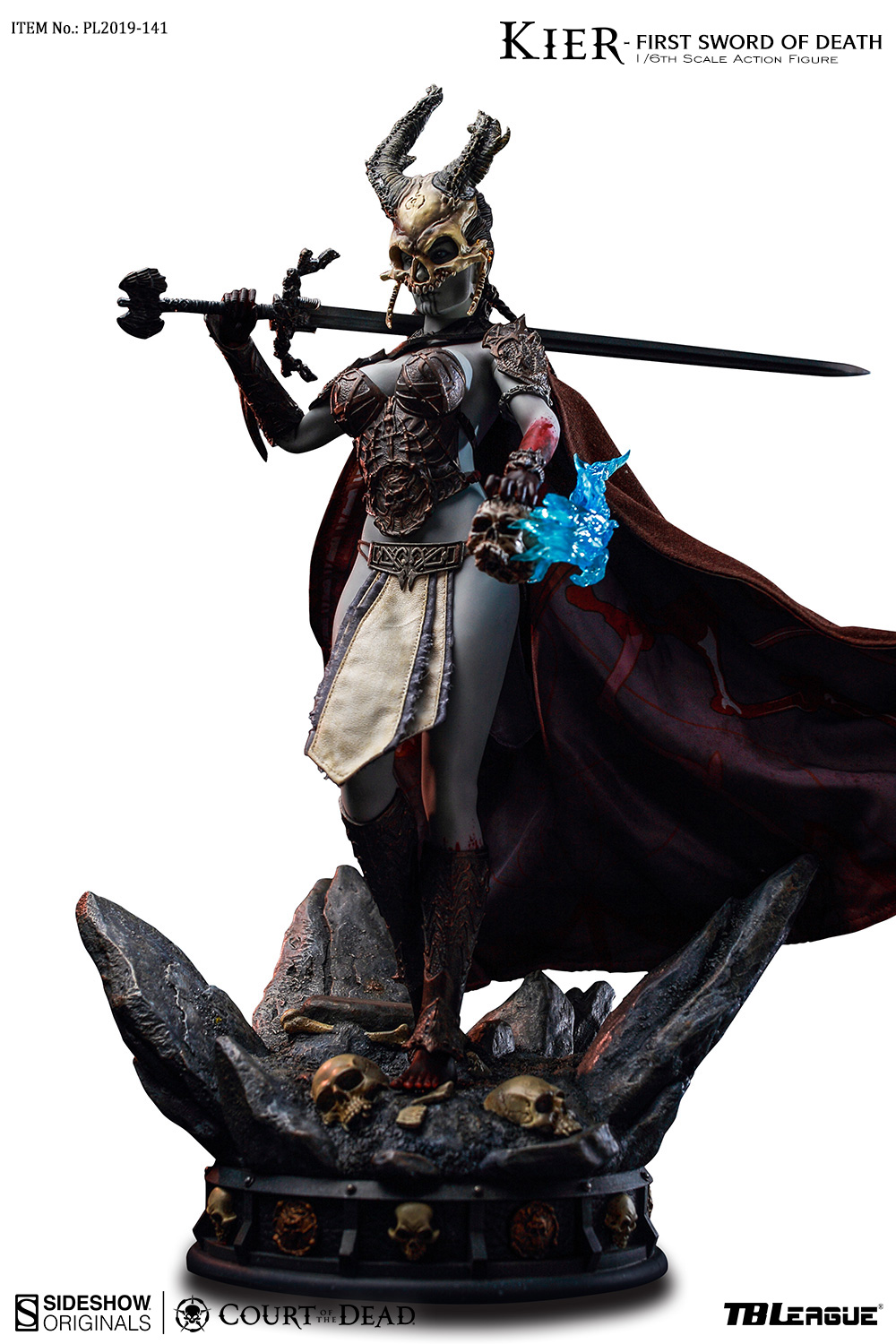 tbleague - NEW PRODUCT: TBLeague & Sideshow: 1/6 Court of the Dead - Valkyrie Cole / Kier movable doll (PL2019-141) 16261311