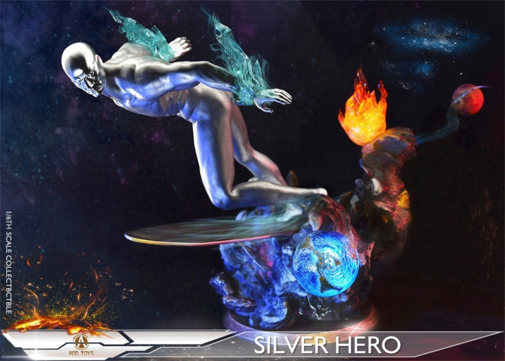 NEW PRODUCT: ADD Toys: 1/6 scale Silver Man/Silver Hero AD05 162f4810