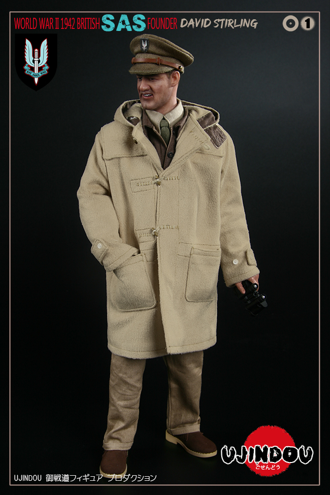 SpecialAirService - NEW PRODUCT: [New Brand] Yuzhan Road UJINDOU: 1/6 World War II British Royal Special Air Service SAS-Founder. David Sterling 1942 16302510