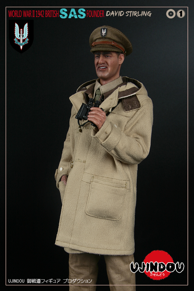 SpecialAirService - NEW PRODUCT: [New Brand] Yuzhan Road UJINDOU: 1/6 World War II British Royal Special Air Service SAS-Founder. David Sterling 1942 16302711