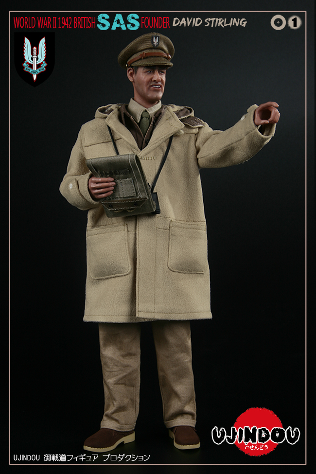 SpecialAirService - NEW PRODUCT: [New Brand] Yuzhan Road UJINDOU: 1/6 World War II British Royal Special Air Service SAS-Founder. David Sterling 1942 16303010