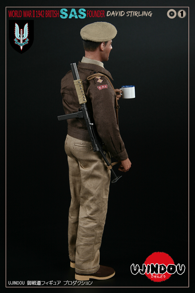 SpecialAirService - NEW PRODUCT: [New Brand] Yuzhan Road UJINDOU: 1/6 World War II British Royal Special Air Service SAS-Founder. David Sterling 1942 16303110