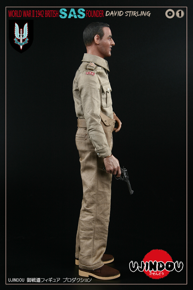SpecialAirService - NEW PRODUCT: [New Brand] Yuzhan Road UJINDOU: 1/6 World War II British Royal Special Air Service SAS-Founder. David Sterling 1942 16303510