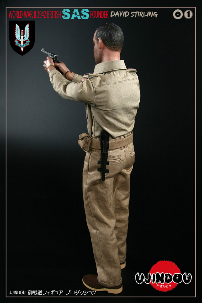 SpecialAirService - NEW PRODUCT: [New Brand] Yuzhan Road UJINDOU: 1/6 World War II British Royal Special Air Service SAS-Founder. David Sterling 1942 16303511