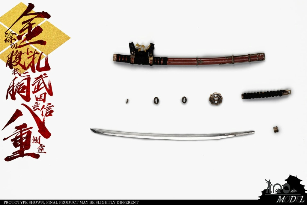 IQOModel - NEW PRODUCT: IQOMODEL: 1/6 [100% full copper] Takeda Shingen's side room with eight heavy gold-coated cuts and two small pieces of carcass NO.91005A/B  16304010