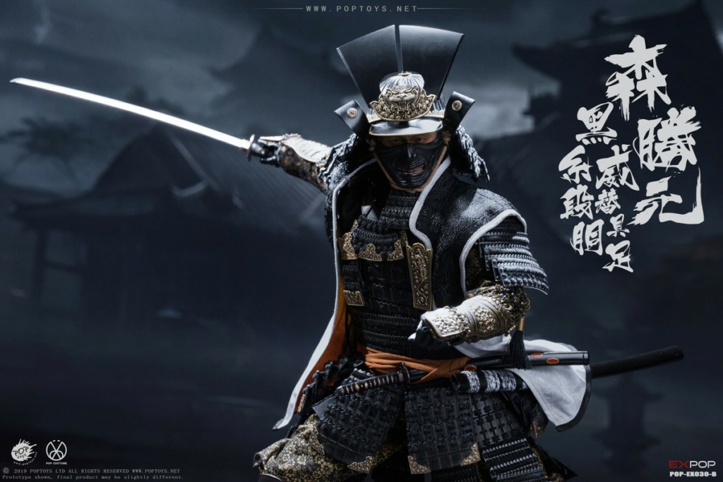 japanese - NEW PRODUCT: PopToys: 1/6 Benevolent Samurai EX30 Standard Edition/Deluxe Edition/Petition Edition [A piece of material 100% alloy] 16324810