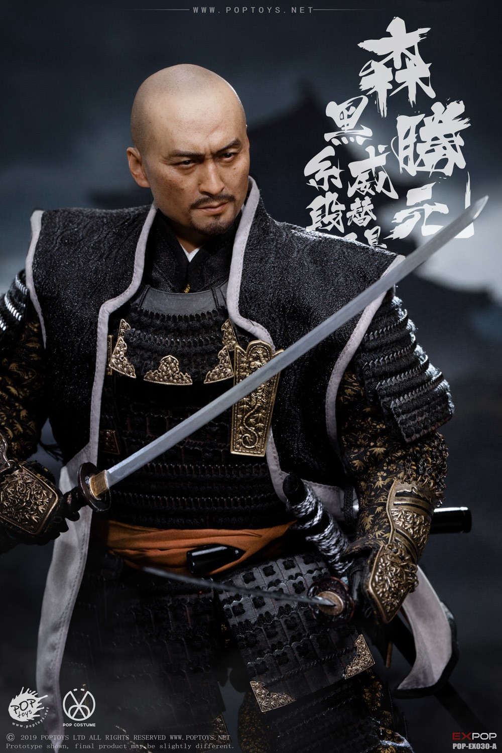 japanese - NEW PRODUCT: PopToys: 1/6 Benevolent Samurai EX30 Standard Edition/Deluxe Edition/Petition Edition [A piece of material 100% alloy] 16331810