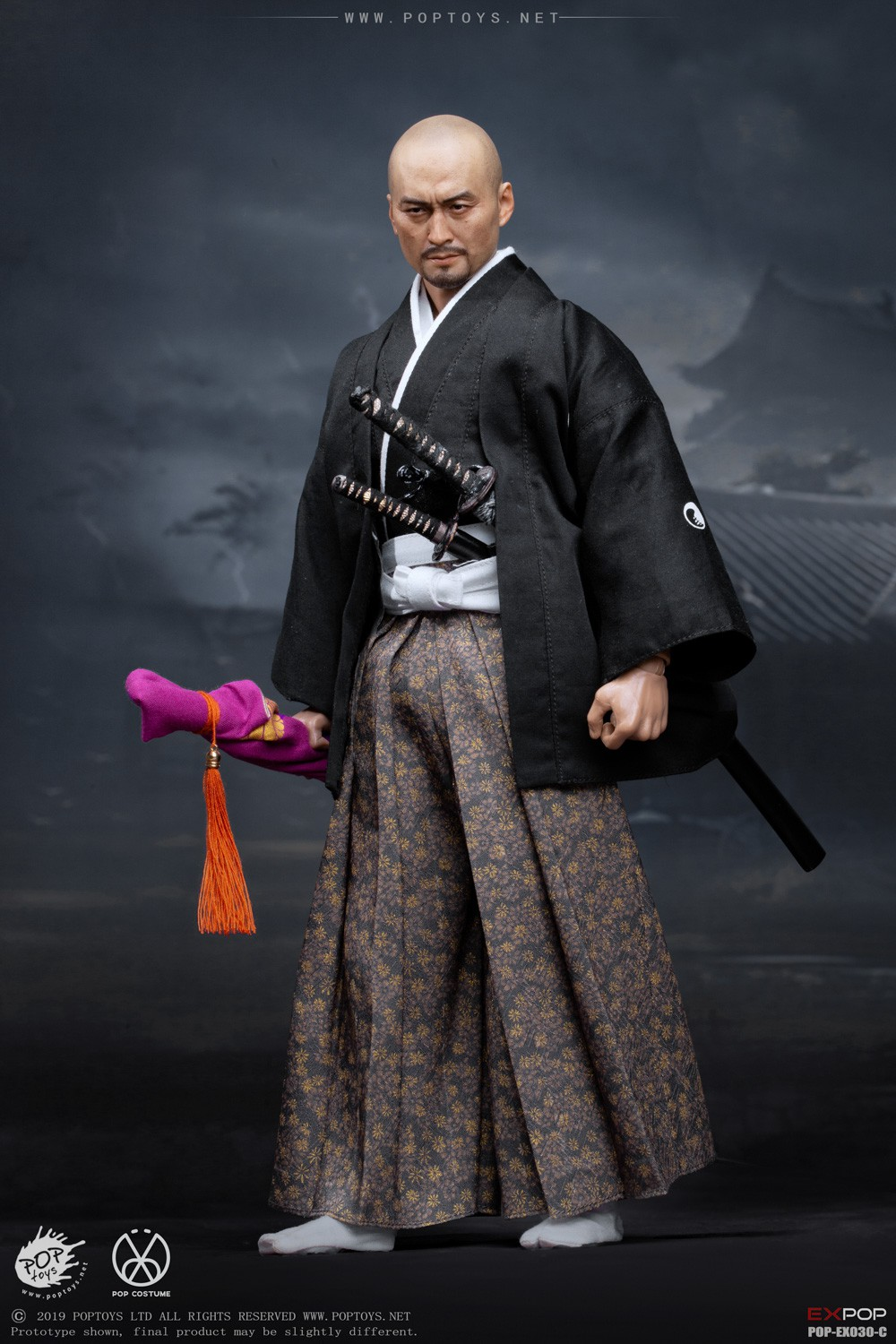 japanese - NEW PRODUCT: PopToys: 1/6 Benevolent Samurai EX30 Standard Edition/Deluxe Edition/Petition Edition [A piece of material 100% alloy] 16335210