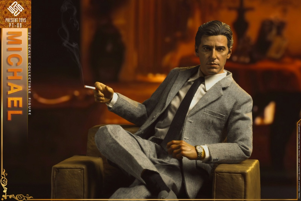 """Michael - NEW PRODUCT: Present Toys: 1/6 """"Second Generation Black Boss"""" Michael Collectible Figure #PT-sp09 16341910"""