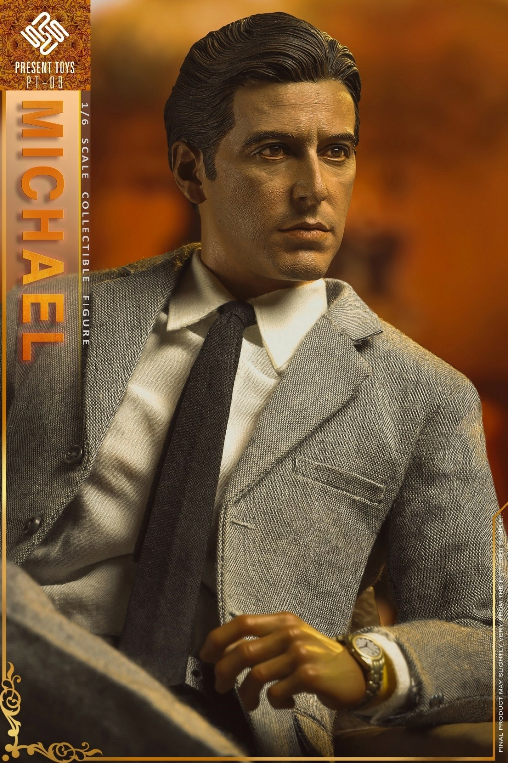 """Michael - NEW PRODUCT: Present Toys: 1/6 """"Second Generation Black Boss"""" Michael Collectible Figure #PT-sp09 16342110"""