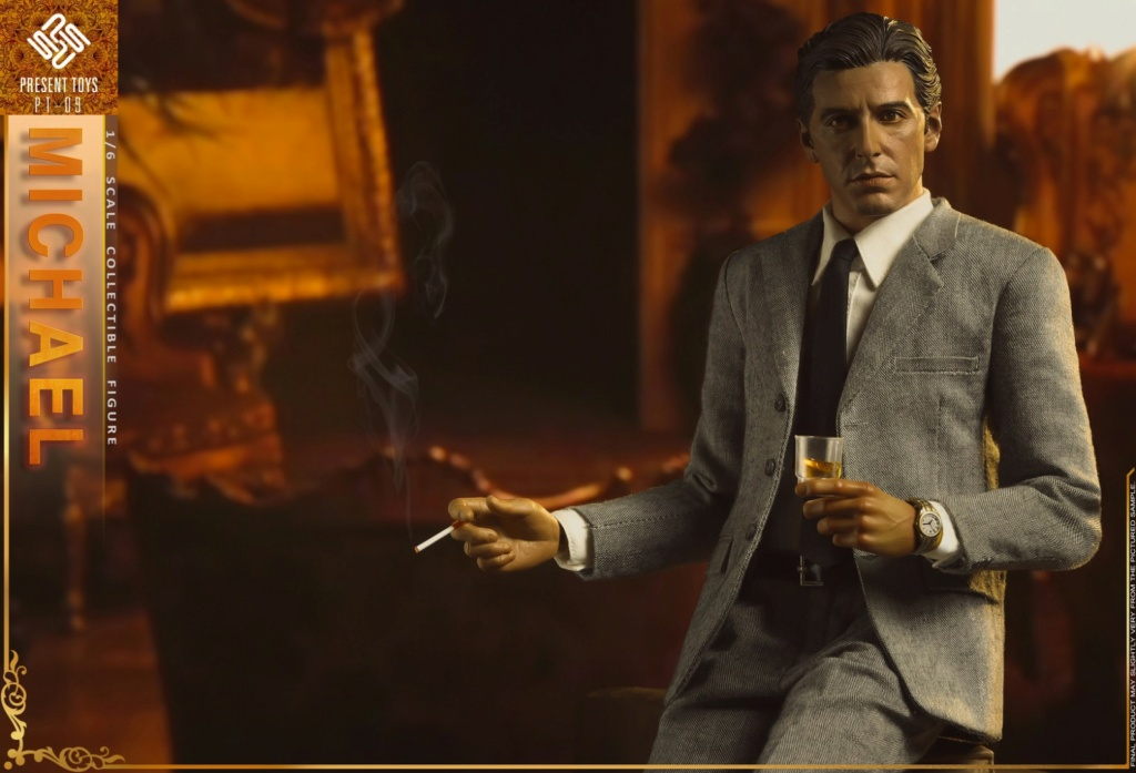 """Michael - NEW PRODUCT: Present Toys: 1/6 """"Second Generation Black Boss"""" Michael Collectible Figure #PT-sp09 16342310"""