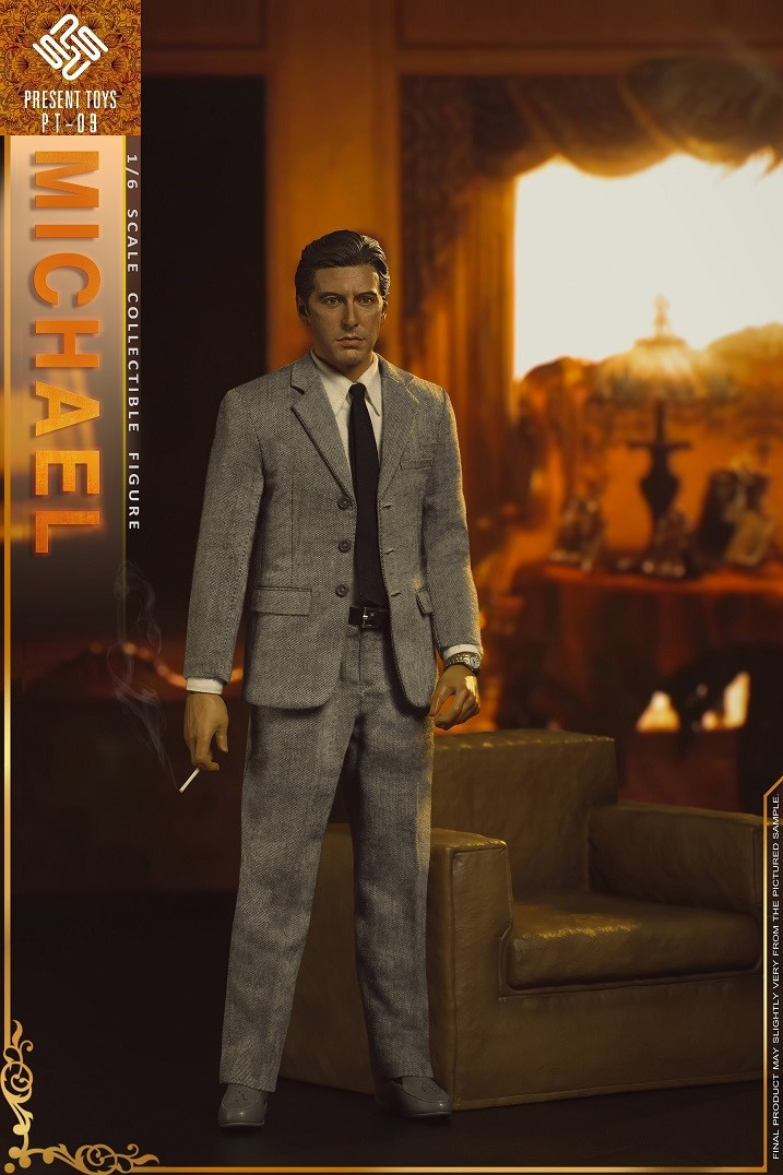 """Michael - NEW PRODUCT: Present Toys: 1/6 """"Second Generation Black Boss"""" Michael Collectible Figure #PT-sp09 16342410"""