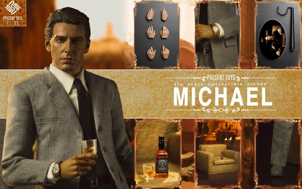 """Michael - NEW PRODUCT: Present Toys: 1/6 """"Second Generation Black Boss"""" Michael Collectible Figure #PT-sp09 16342510"""