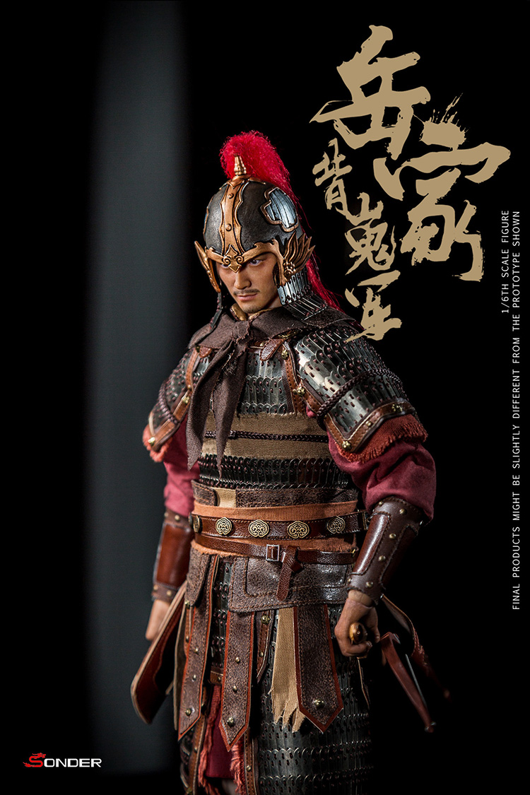 NEW PRODUCT: SONDER: 1/6 Song Dynasty third bomb - Yue Jiabei Junjun (SD003#) 16354911