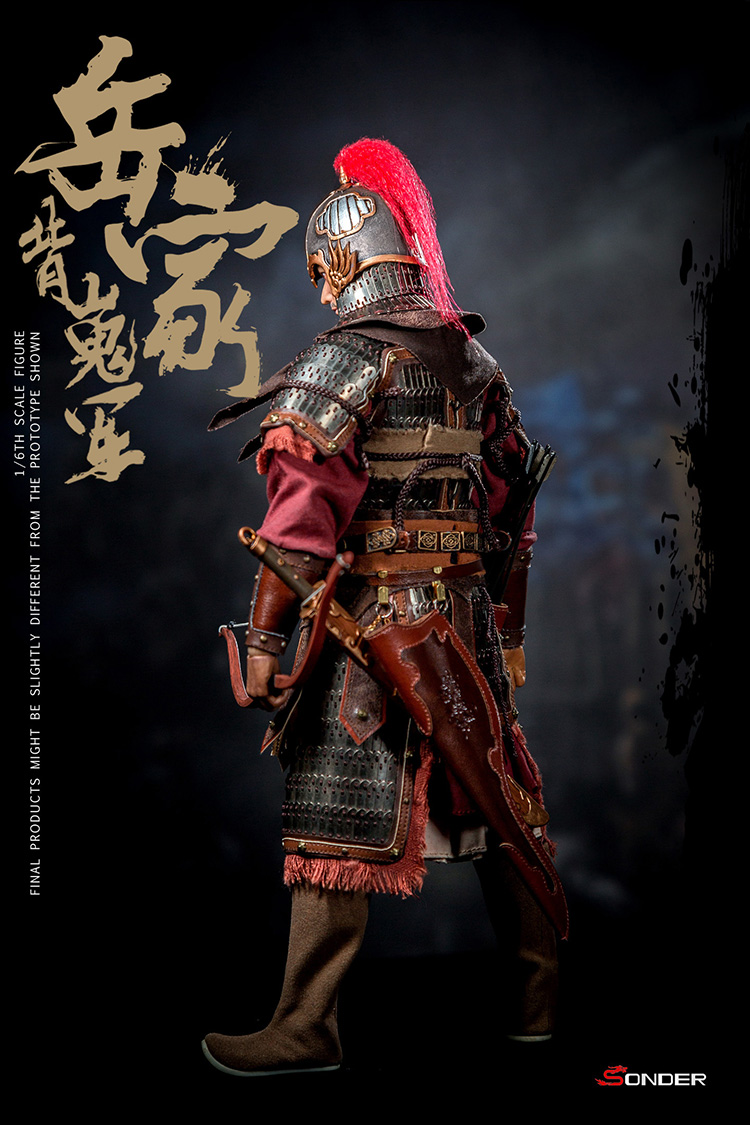 NEW PRODUCT: SONDER: 1/6 Song Dynasty third bomb - Yue Jiabei Junjun (SD003#) 16360712