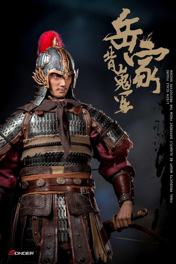 NEW PRODUCT: SONDER: 1/6 Song Dynasty third bomb - Yue Jiabei Junjun (SD003#) 16361411