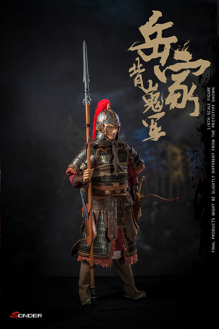 NEW PRODUCT: SONDER: 1/6 Song Dynasty third bomb - Yue Jiabei Junjun (SD003#) 16361911