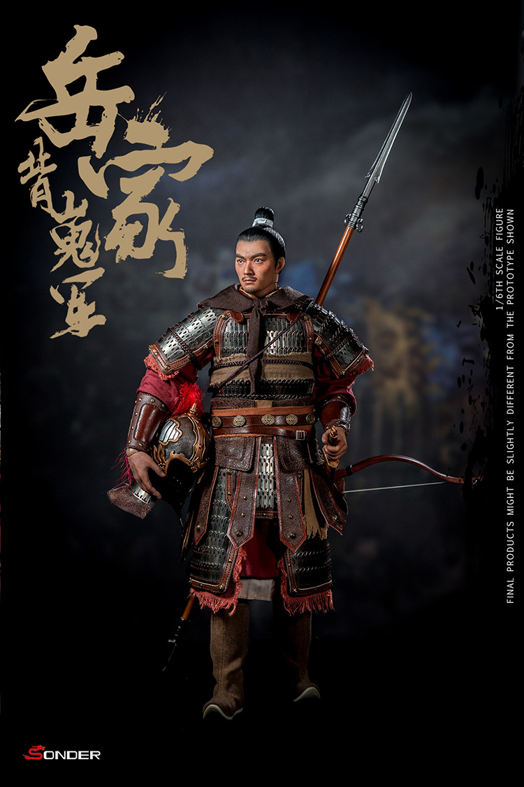 NEW PRODUCT: SONDER: 1/6 Song Dynasty third bomb - Yue Jiabei Junjun (SD003#) 16362411