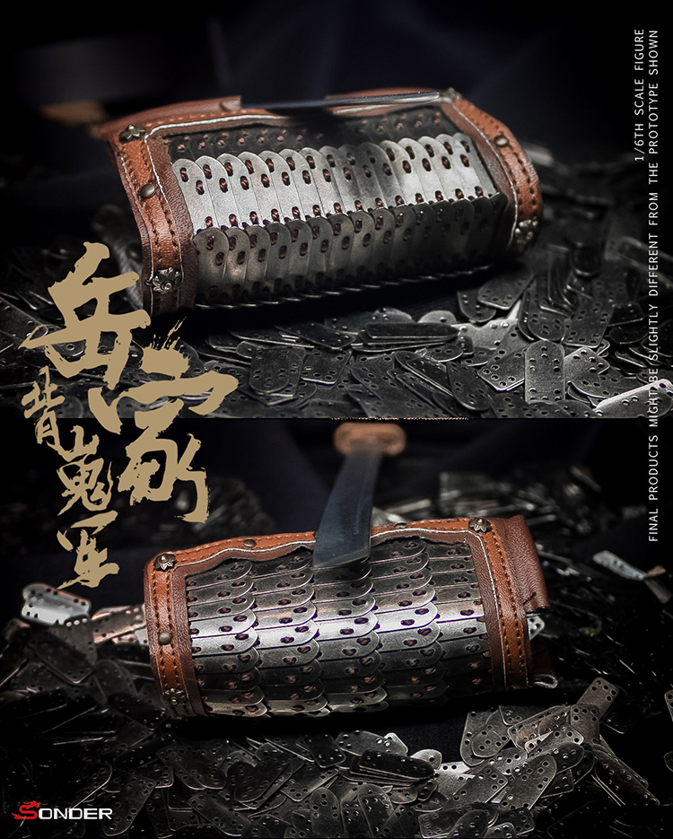 NEW PRODUCT: SONDER: 1/6 Song Dynasty third bomb - Yue Jiabei Junjun (SD003#) 16364811