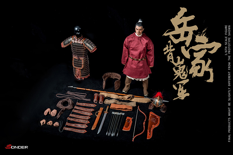 NEW PRODUCT: SONDER: 1/6 Song Dynasty third bomb - Yue Jiabei Junjun (SD003#) 16365010