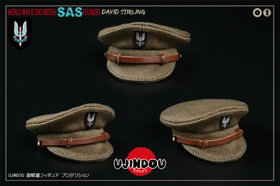 SpecialAirService - NEW PRODUCT: [New Brand] Yuzhan Road UJINDOU: 1/6 World War II British Royal Special Air Service SAS-Founder. David Sterling 1942 16391511