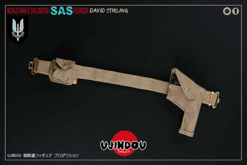 SpecialAirService - NEW PRODUCT: [New Brand] Yuzhan Road UJINDOU: 1/6 World War II British Royal Special Air Service SAS-Founder. David Sterling 1942 16392011