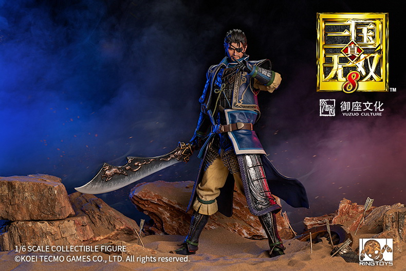 "NEW PRODUCT: RingToys: 1/6 ""True. Three Kingdoms Warriors 8"" series - Xiahou Yi action figure 16451511"