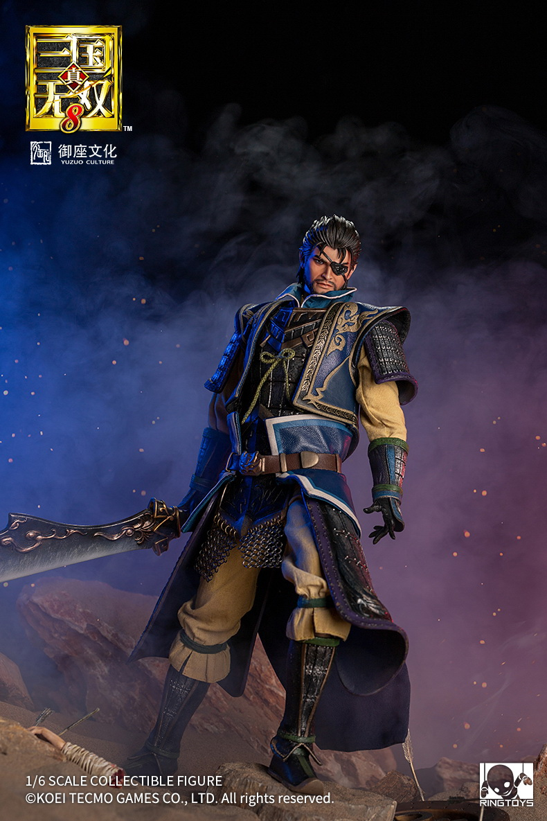 "male - NEW PRODUCT: RingToys: 1/6 scale Three Kingdoms Warriors 8"" series - Xiahou Yi figure 16452010"