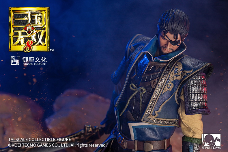 "NEW PRODUCT: RingToys: 1/6 ""True. Three Kingdoms Warriors 8"" series - Xiahou Yi action figure 16452511"