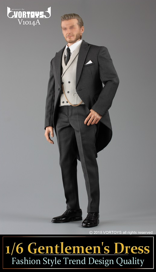 NEW PRODUCT: VORTOYS New Products: 1/6 British Gentleman Suit Dress Set - Royal Wedding Tricolor (V1014) 16453010