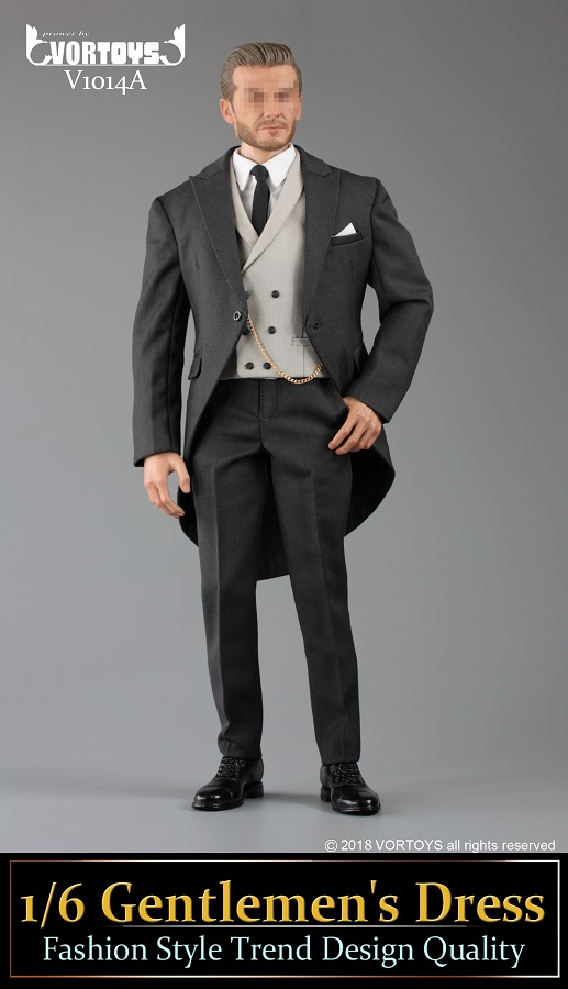 NEW PRODUCT: VORTOYS New Products: 1/6 British Gentleman Suit Dress Set - Royal Wedding Tricolor (V1014) 16453610