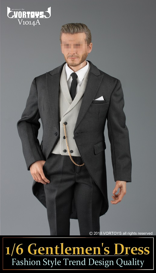 NEW PRODUCT: VORTOYS New Products: 1/6 British Gentleman Suit Dress Set - Royal Wedding Tricolor (V1014) 16453910