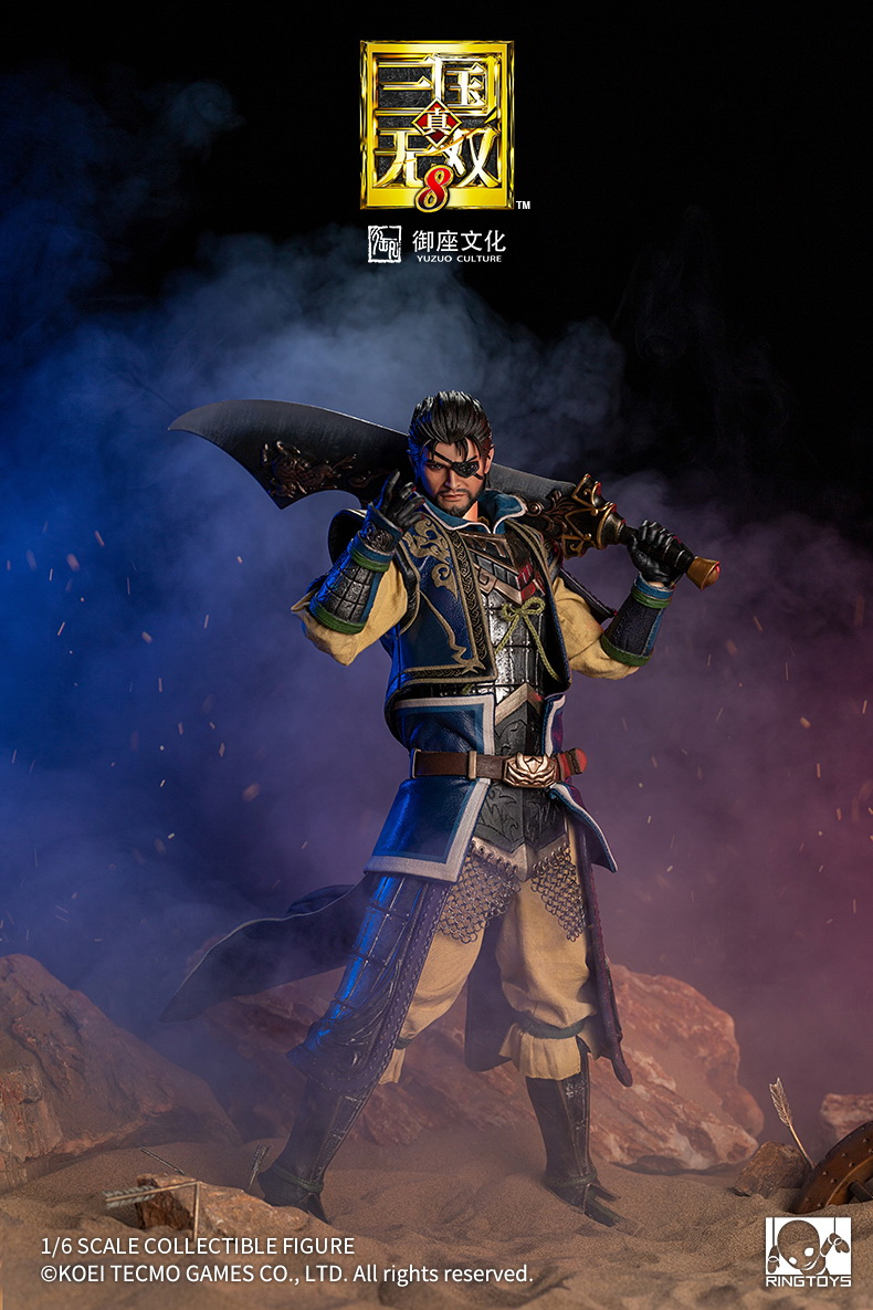 "NEW PRODUCT: RingToys: 1/6 ""True. Three Kingdoms Warriors 8"" series - Xiahou Yi action figure 16454211"