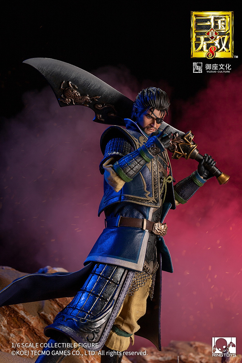 "male - NEW PRODUCT: RingToys: 1/6 scale Three Kingdoms Warriors 8"" series - Xiahou Yi figure 16454710"