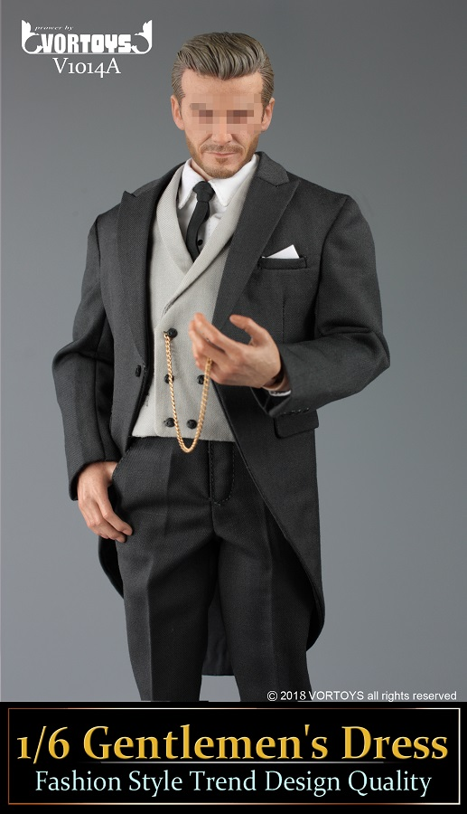 NEW PRODUCT: VORTOYS New Products: 1/6 British Gentleman Suit Dress Set - Royal Wedding Tricolor (V1014) 16455110