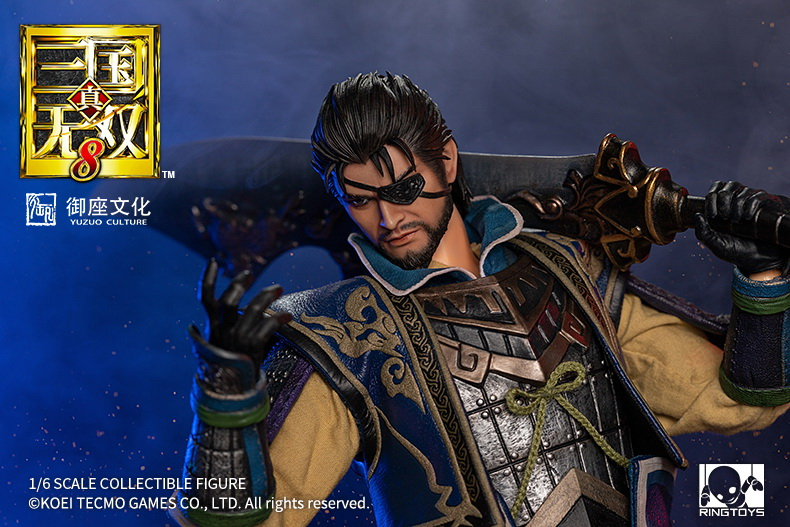"male - NEW PRODUCT: RingToys: 1/6 scale Three Kingdoms Warriors 8"" series - Xiahou Yi figure 16455111"