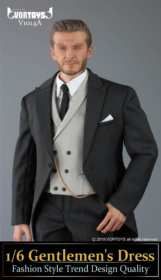 NEW PRODUCT: VORTOYS New Products: 1/6 British Gentleman Suit Dress Set - Royal Wedding Tricolor (V1014) 16455210